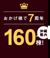 おかげ様で6周年 150棟