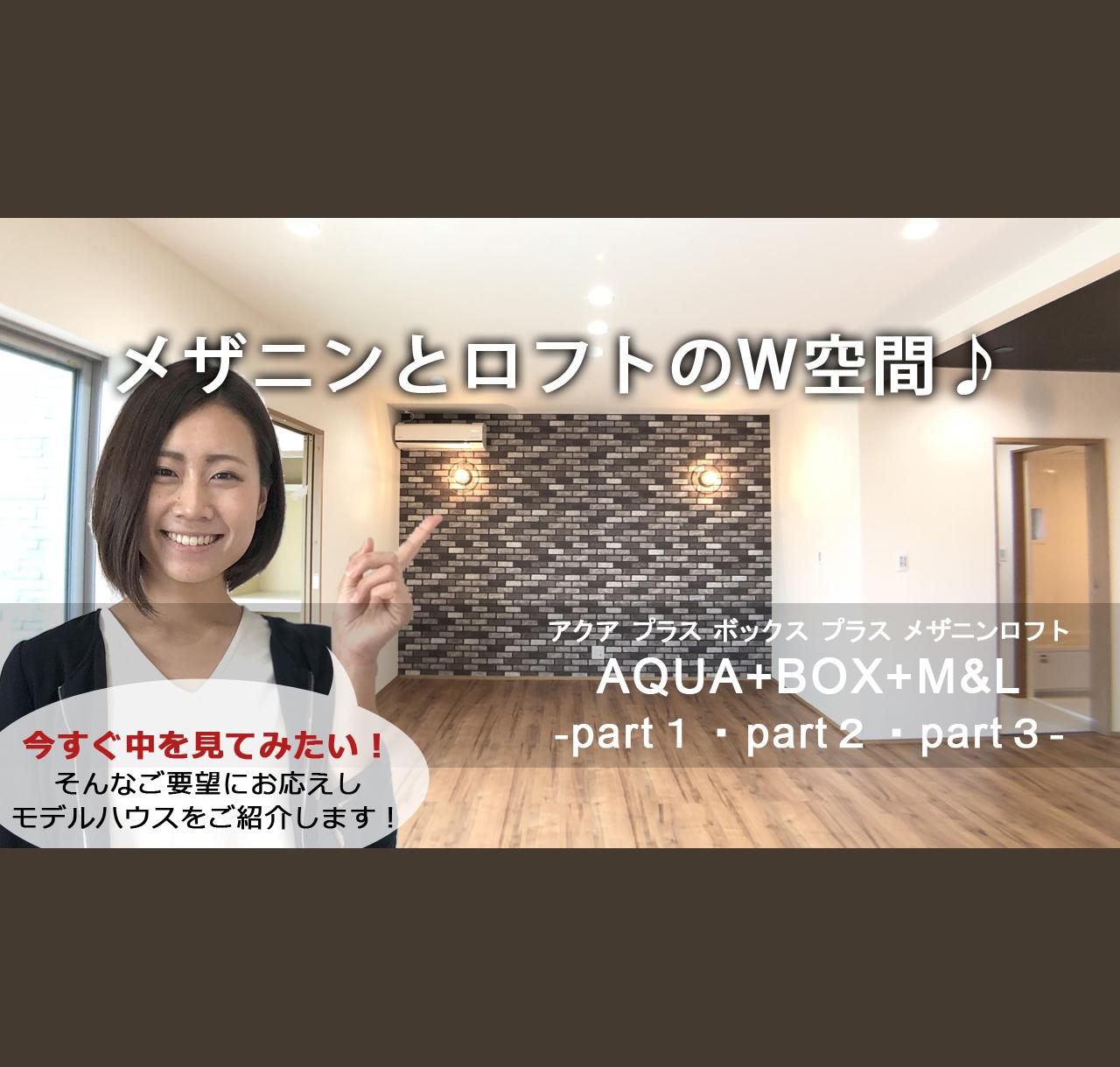 Youtube限定!バーチャル見学会 AQUA+BOX+M&L